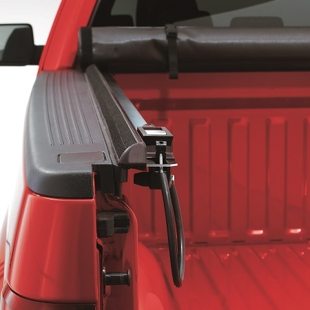 LUND Genesis Roll-Up Tonneau Cover Rolled