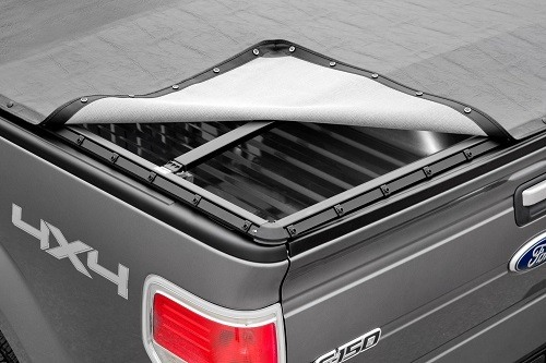 Opening Snap Tonneau Cover